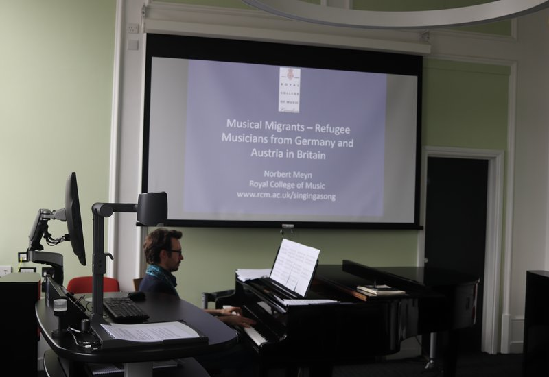 Musical Migrants Lecture